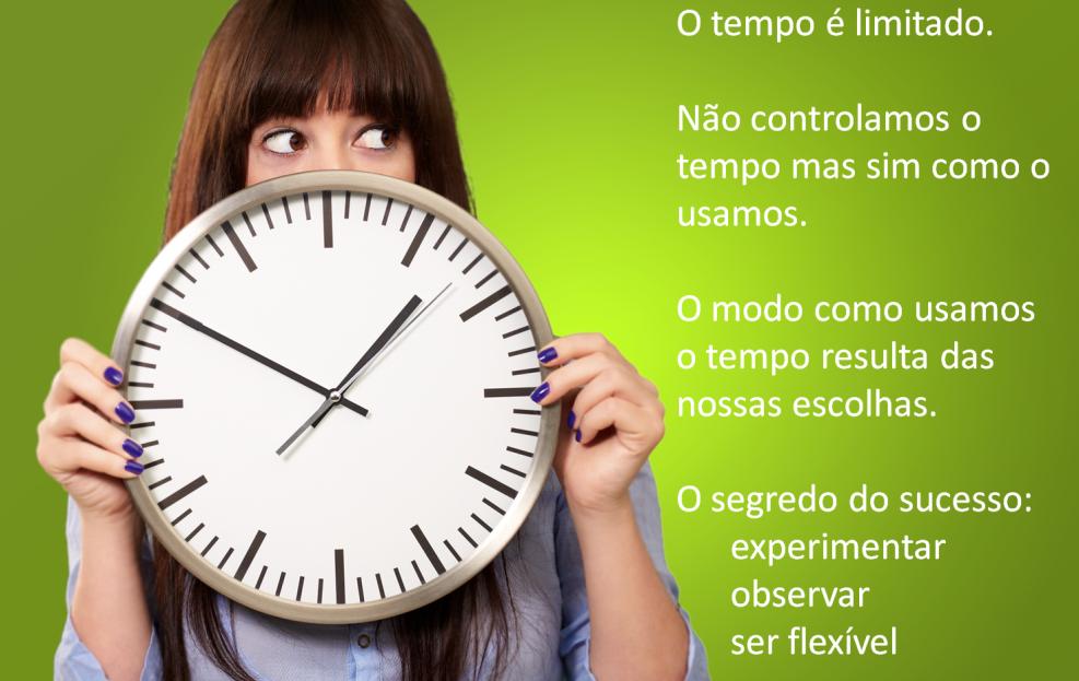 Gestão de tempo e expetativas para lidar com a frustração do tempo não ser suficiente