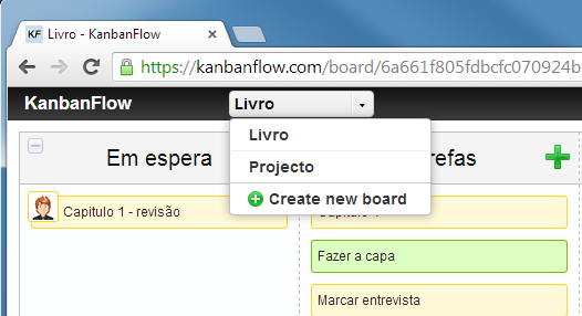 kanbanflow-novo-quadro