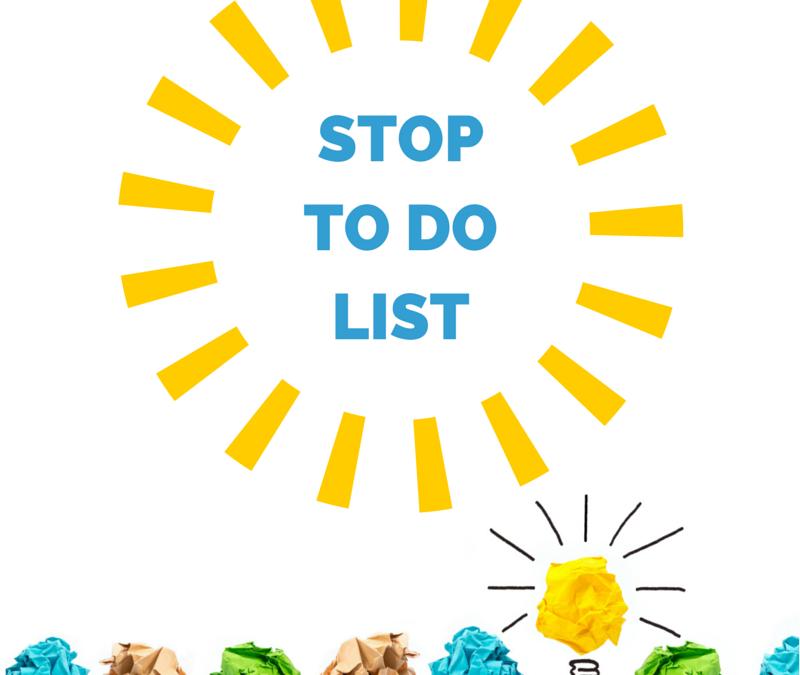 Stop Todo List