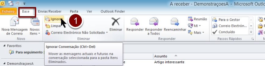 OUTLOOK-ignorar-conversas