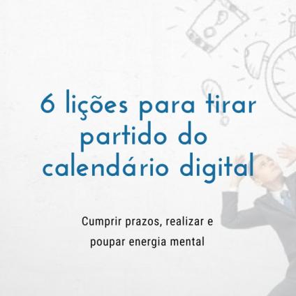 6 lições para tirar partido do  calendário digital (pdf)
