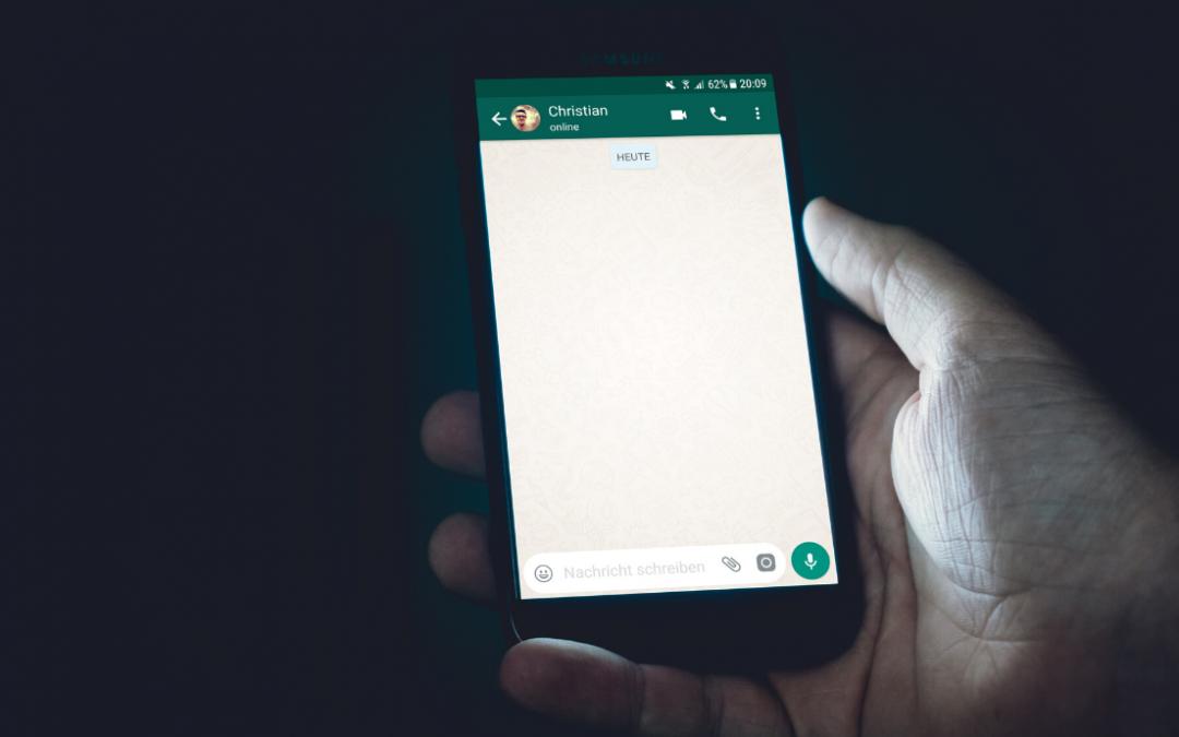 Whatsapp: para as imagens não encherem o disco e tirá-las da galeria